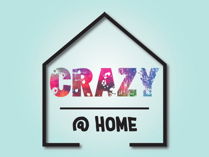 Logo Crazy @home